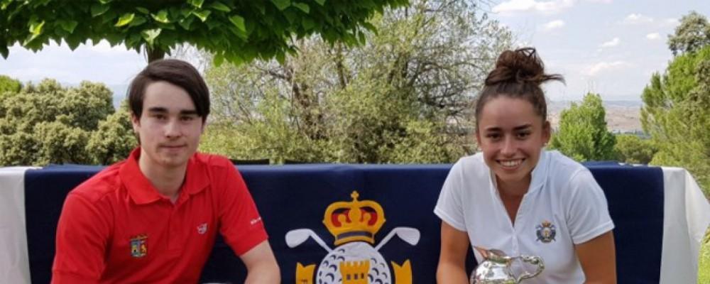 Jugadores del Naturávila Golf se proclaman campeones de España de dobles y del Abierto de Madrid