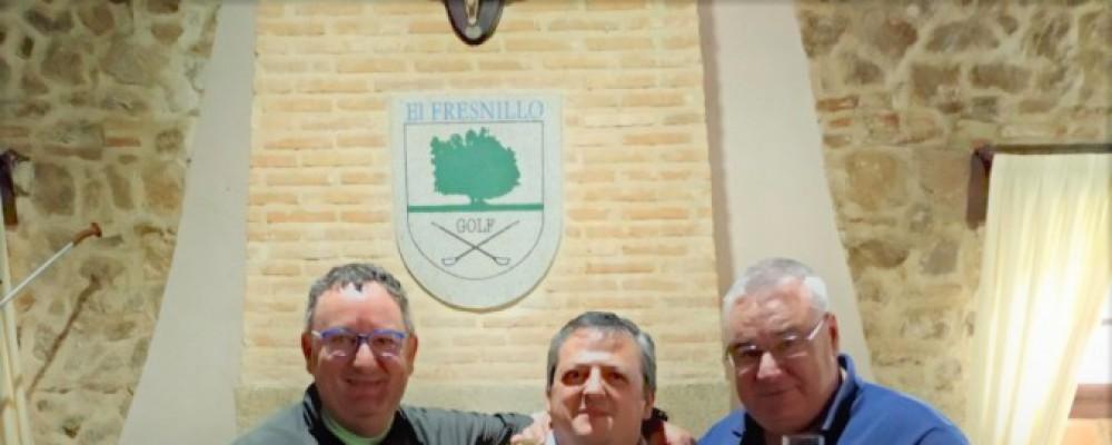 El campo de golf El Fresnillo acoge a más de 60 jugadores en el torneo por parejas Vinos Faustino VI
