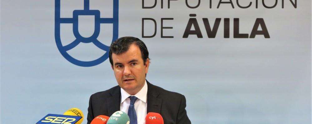 La Diputación de Ávila destina más de 700.000 euros a obras de mejora en las carreteras de la provincia