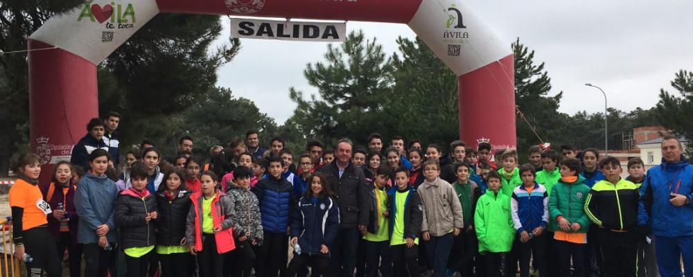 Atletas de Arévalo y El Barco de Ávila se llevan el campeonato provincial de campo a través de los Juegos Escolares