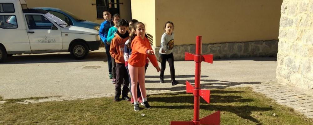 Más de un centenar de alumnos se dan cita en los Encuentros Deportivos de los Juegos Escolares de la Diputación de Ávila