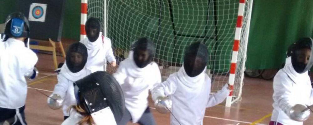 Un total de 300 escolares participan este fin de semana en los Juegos Escolares de la Diputación de Ávila