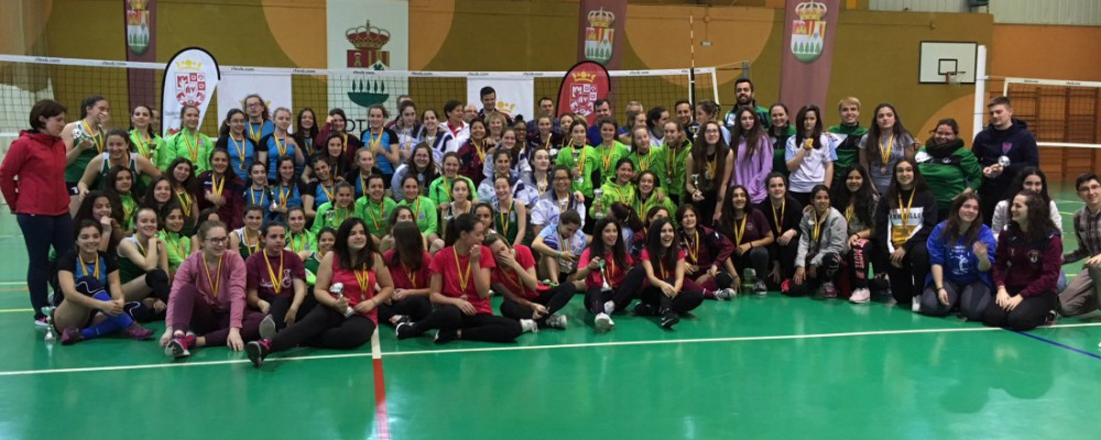 Ávila y Cebreros se llevan la final provincial de voleibol de los Juegos Escolares