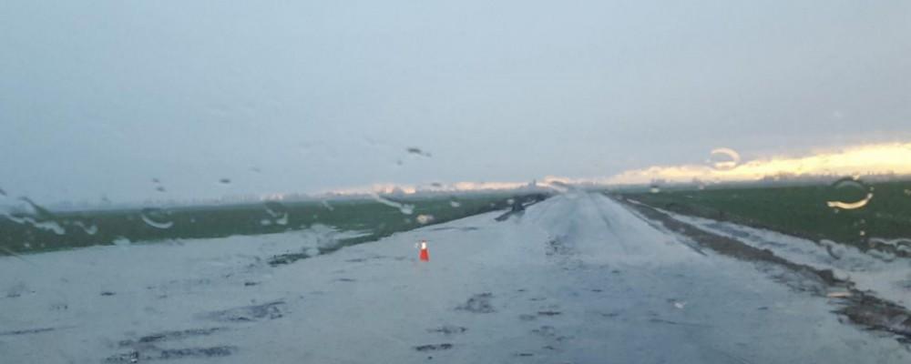 La Diputación de Ávila actúa en tres carreteras de la provincia afectadas por las fuertes lluvias