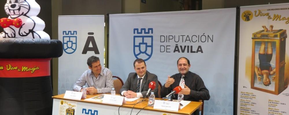 La Diputación de Ávila llevará en diciembre espectáculos de magia a siete municipios de la provincia