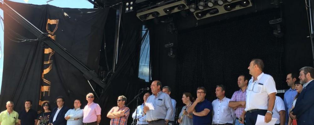 La Diputación de Ávila muestra su apoyo a la II Fiesta de la Mancomunidad Alberche por unir a los vecinos de la comarca y sus tradiciones