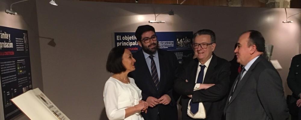 El presidente de la Diputación de Ávila subraya la plena vigencia de la Constitución Española en su 40º aniversario