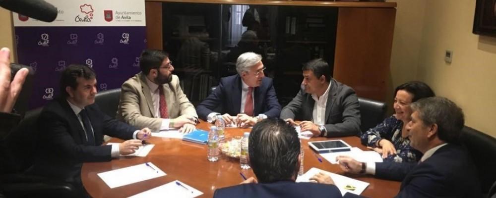 La Mesa Conjunta de Diálogo Social acuerda solicitar al Gobierno que destine el millón de euros de los PGE a la digitalización de los polígonos industriales