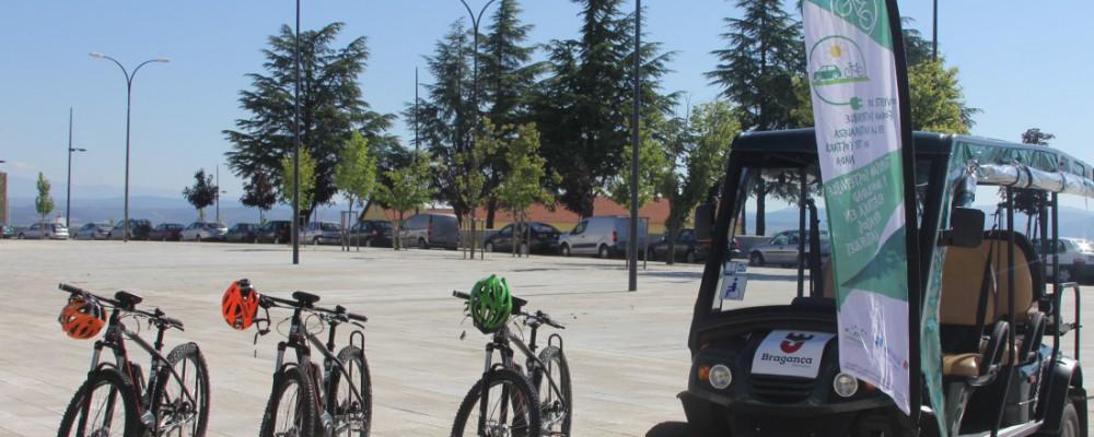 Un tour de vehículos eléctricos recorrerá Castilla y León y el norte de Portugal desde Ávila dentro del proyecto europeo Moveletur