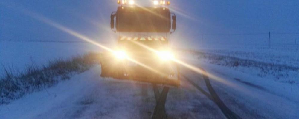 El dispositivo de vialidad invernal de la Diputación de Ávila interviene en más de un centenar de carreteras de la provincia