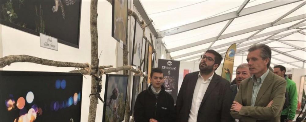 La Diputación de Ávila difunde la riqueza natural de la provincia en la I Feria Ornitológica de Castilla y León - Ornitocyl