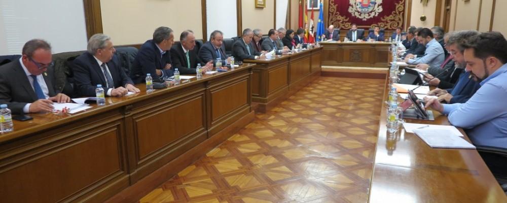 La Diputación de Ávila aprueba un presupuesto global de 66,8 millones de euros para el año 2019 con las políticas sociales como eje principal
