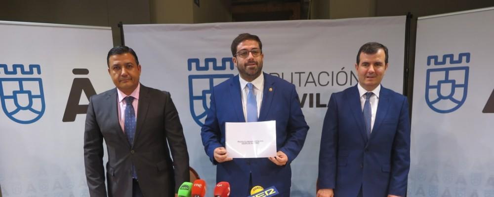 El eje principal del Presupuesto de la Diputación de Ávila para 2019, que asciende a 55,3 millones de euros, son las 100.000 personas que habitan el medio rural