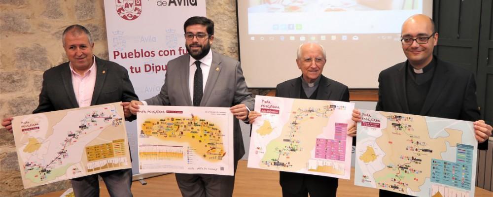 Diputación Provincial y Obispado de Ávila presentan la georreferenciación de las Rutas Teresianas