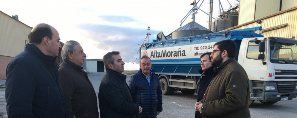El presidente de la Diputación destaca la labor de dinamización económica de Alta Moraña, que genera unos 50 empleos directos