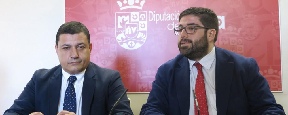La Diputación de Ávila destinará este año 5,5 millones de euros al Plan Extraordinario de Inversiones