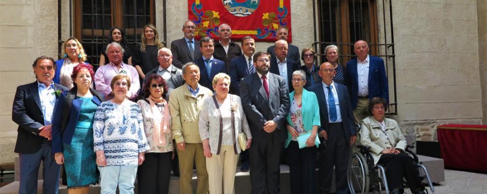 La Diputación de Ávila celebra la festividad de Santa Rita con un homenaje a los trabajadores que se jubilan en la anualidad