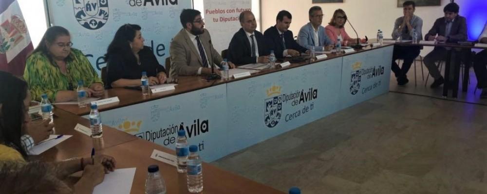La Diputación de Ávila defiende en la Mesa del Transporte la necesidad de adecuar los servicios a las circunstancias del medio rural