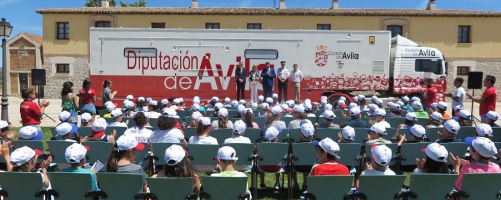 Cerca de 700 escolares se forman en ciberseguridad con el programa Ticnatur, de la Diputación de Ávila y la Policía Nacional
