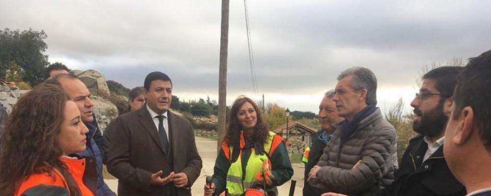 El programa de trabajadores forestales de Diputación de Ávila y Junta de Castilla y León alcanza a todos los municipios de la provincia
