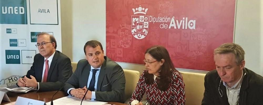 La Diputación de Ávila acercará este año los Cursos de Verano de la UNED a tres municipios de la provincia