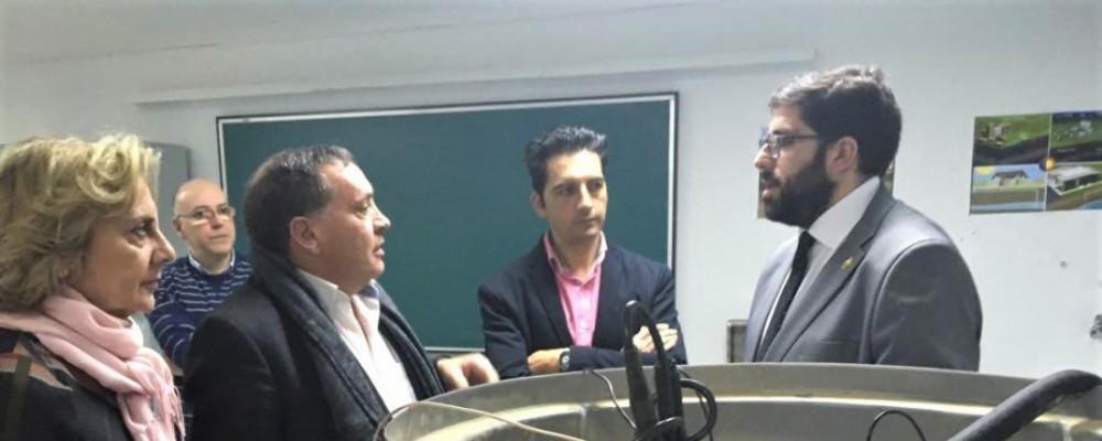 El presidente de la Diputación de Ávila subraya el potencial innovador de la provincia a través del Grupo de Investigación TIDOP de la USAL