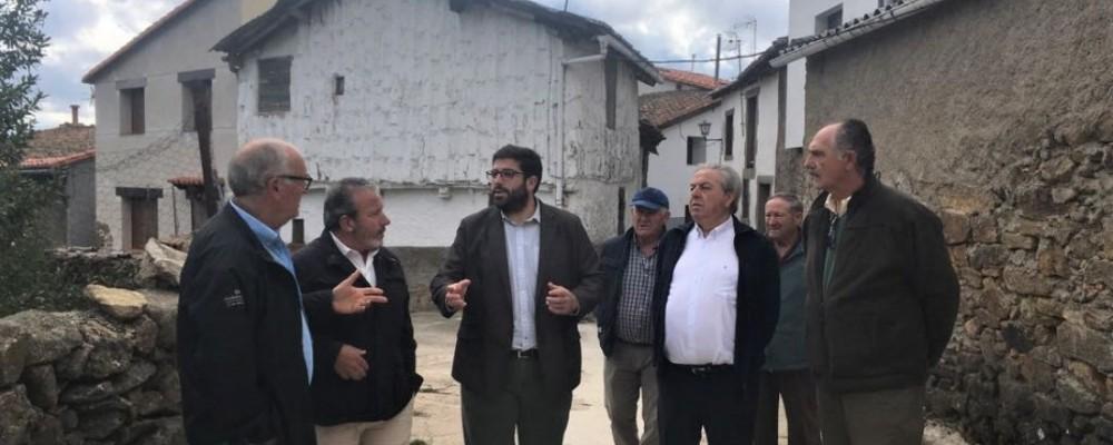 El presidente de la Diputación de Ávila demanda la mejora de la financiación local para atender las necesidades de los municipios