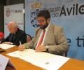 Foto de La Diputación Provincial y el Obispado de Ávila colaborarán con 120.000 euros para el arreglo y mantenimiento de iglesias y ermitas