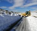 Foto de La Diputación actúa en más de 70 carreteras de la provincia, en la que quedan sin restricciones los puertos de El Tremedal y Chía