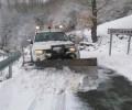 Foto de La Diputación de Ávila recomienda precaución en las carreteras por la formación de placas de hielo en tramos puntuales de la red