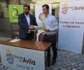 Foto de La Diputación Provincial renueva su patrocinio con el Óbila Club de Basket a través de la marca colectiva Ávila Auténtica