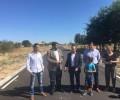 Foto de La Diputación de Ávila interviene en la carretera de acceso a Casasola para ampliarla y mejorar la seguridad vial
