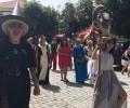 Foto de La presidenta en funciones de la Diputación de Ávila inaugura el VII Mercado Medieval de Peguerinos