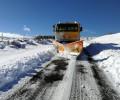 Foto de El dispositivo de vialidad invernal de la Diputación facilita la apertura al tráfico de la totalidad de la red viaria provincial