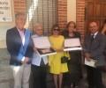 Foto de Santo Domingo de las Posadas homenajea a sus vecinos Clara Jiménez, miembro de la IGDA, y el dulzainero Aureliano Muñoz