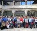 Foto de Las cofradías de la Vera Cruz de Mirueña de los Infanzones y Villaflor visitan la Diputación de Ávila