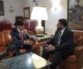 Foto de El presidente de la Diputación de Ávila recibe al nuevo subdelegado del Gobierno
