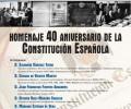 La Diputación de Ávila conmemora los 40 años de la Constitución Española con una jornada en el Parador de Gredos