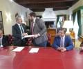 La Diputación de Ávila y Confae suscriben un convenio para poner en marcha una oficina de captación de inversiones dentro del Plan Ávila 2020