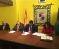La Diputación de Ávila formaliza la venta de una veintena de parcelas en el Polígono Industrial de Piedrahíta