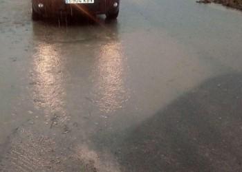 La Diputación de Ávila actúa en tres carreteras de la provincia afectadas por las fuertes lluvias (2º Fotografía)