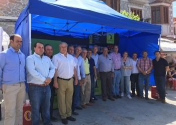 La Diputación de Ávila muestra su apoyo a la II Fiesta de la Mancomunidad Alberche por unir a los vecinos de la comarca y sus tradiciones (2º Fotografía)