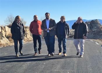 La Diputación de Ávila mejora la carretera entre Navaquesera y Navatalgordo con una inversión de 230.000 euros (2º Fotografía)