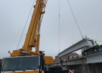 La Diputación de Ávila ejecuta obras de ampliación del puente de acceso al municipio de El Fresno, en la carretera AV-P-402 (2º Fotografía)