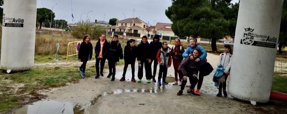 El Tiemblo, Arévalo y Natrávila acogen a casi 350 niños en la jornada de Juegos Escolares de la Diputación