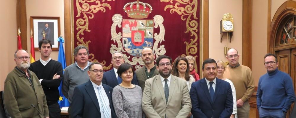 La Diputación de Ávila celebra la toma de posesión de los trabajadores adjudicatarios del concurso de méritos
