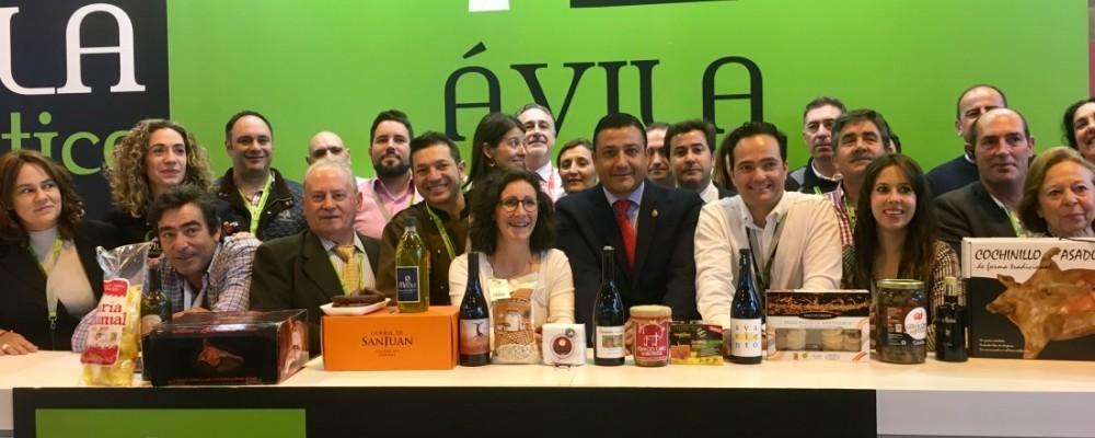 Carlos García visita el XXXIII Salón de Gourmets de Madrid