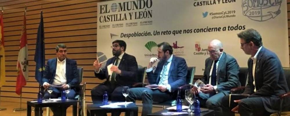 El presidente de la Diputación de Ávila reclama al Gobierno de España una inversión decidida para el tren como medida para frenar la despoblación