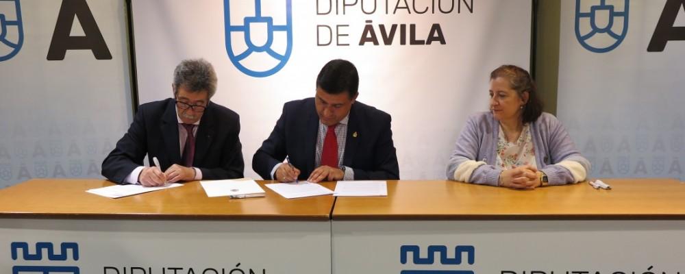 La Diputación de Ávila firma un convenio de colaboración con la Hermandad de Donantes de Sangre para la realización de charlas informativas