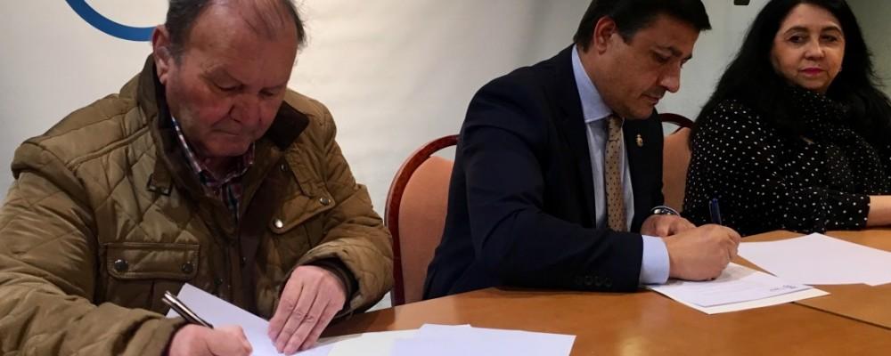 Convenio entre la Diputación y la Federación de Jubilados y Pensionistas de Ávila para talleres de gimnasia de mantenimiento en municipios de menos de 20.000 habitantes